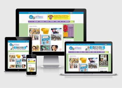 طراحی سایت توسط گروه طراحی نگارچه