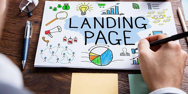 صفحه فرود یا landing page