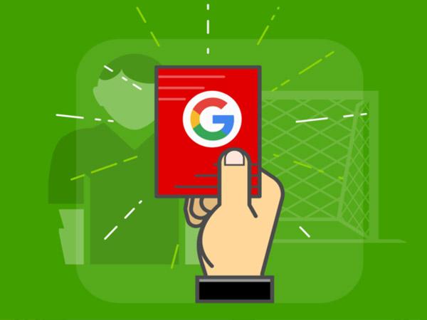 پنالتی گوگل چیست | علت پنالتی گوگل