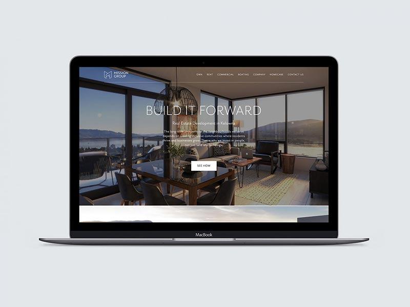 عناصر رایج در طراحی صفحه اصلی سایت شرکت